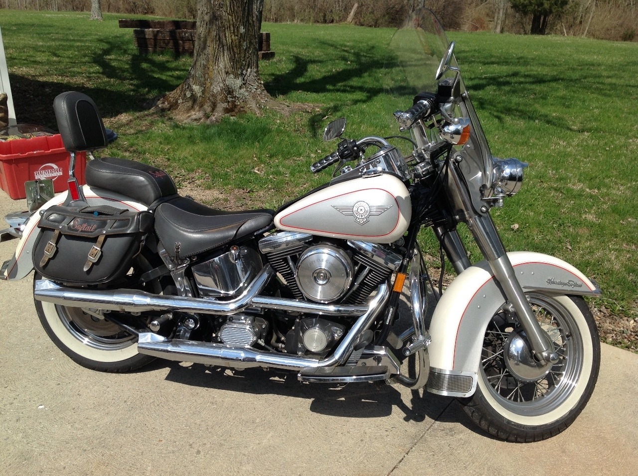1994 Harley-Davidson Heritage Softail SPECIAL, motorcycle listing