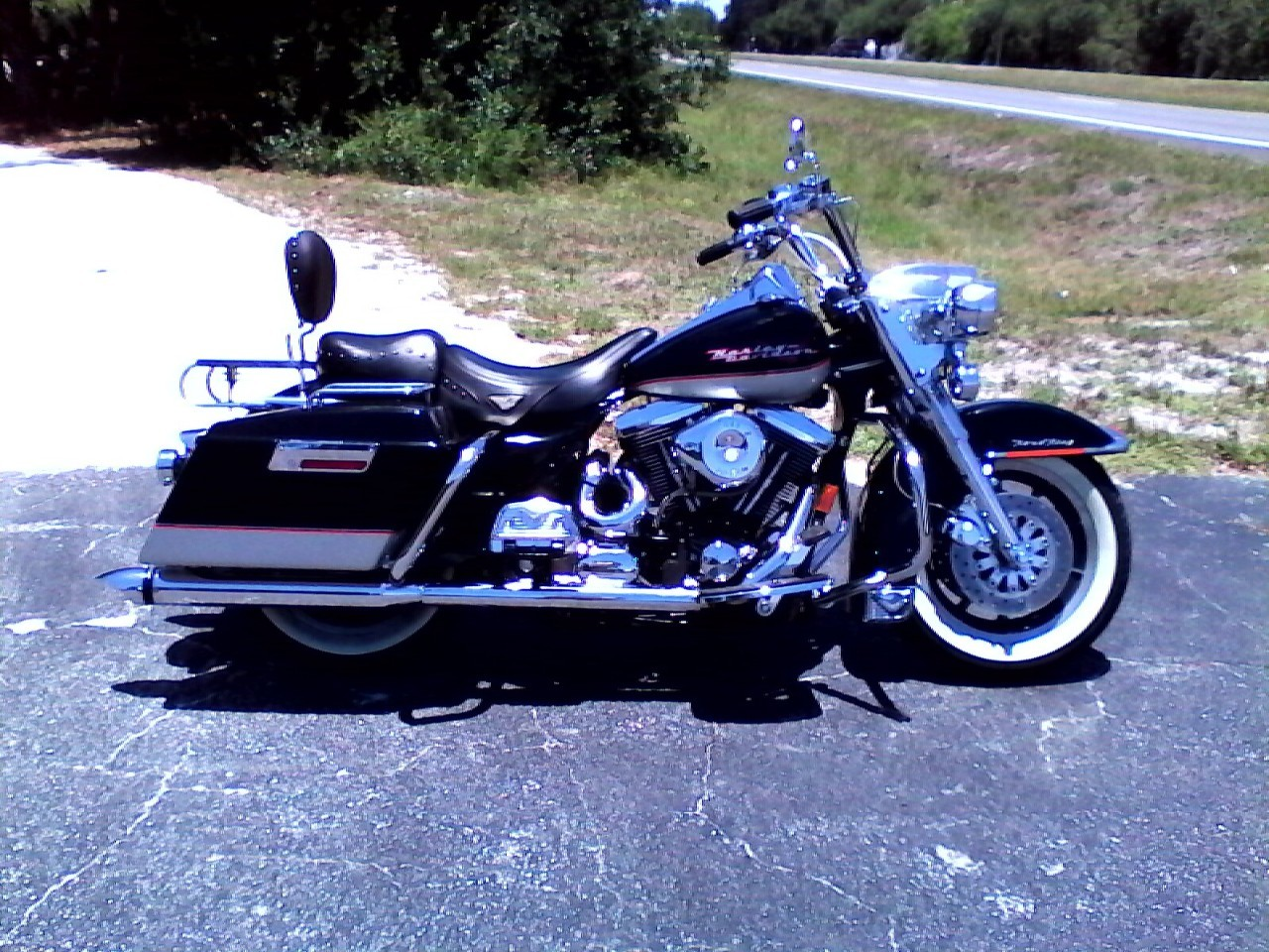 1994 Hd road king, motorcycle listing