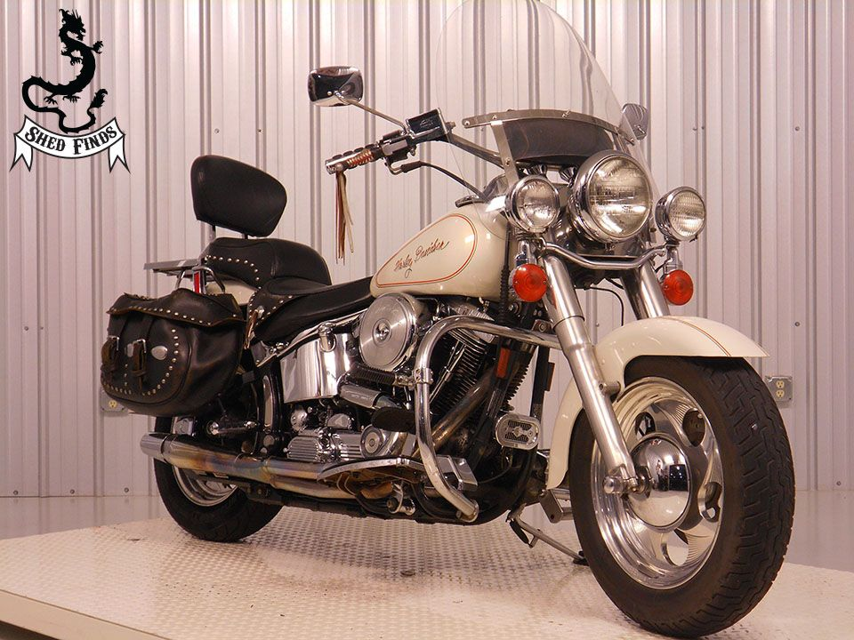 1995 Harley-Davidson FLSTC-Heritage Softail Classic, motorcycle listing