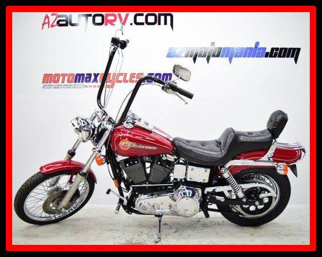 1995 Harley-Davidson FXDWG Dyna Wide Glide, motorcycle listing