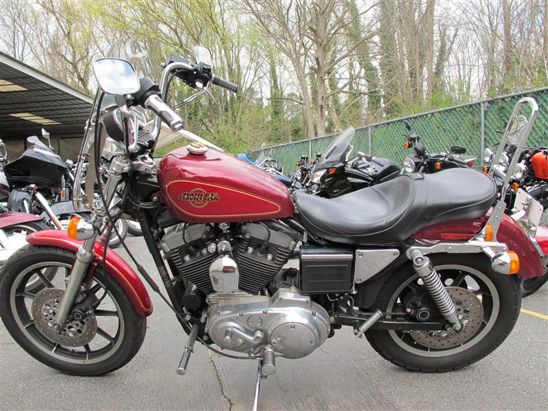 1995 Harley XL1200, motorcycle listing