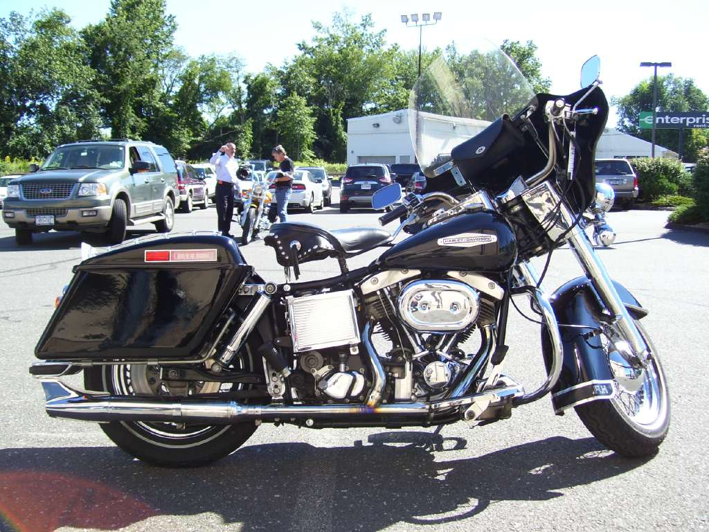 1982 Harley-Davidson FLH, motorcycle listing