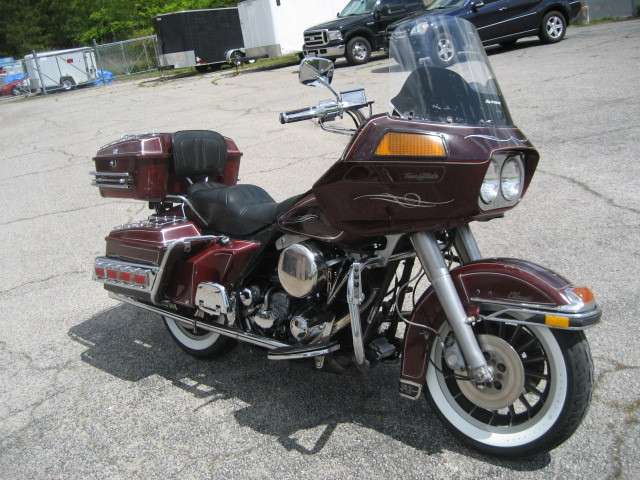 1983 Harley-Davidson Tour Glide Classic FLTC, motorcycle listing