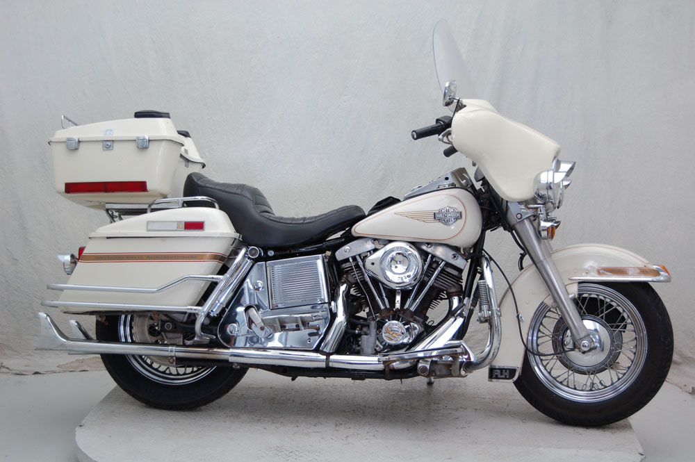 1984 Harley-Davidson FLH, motorcycle listing