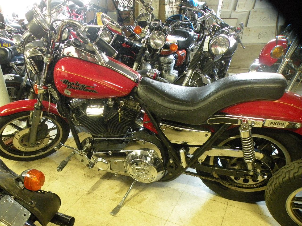 1984 Harley-Davidson FXRS Low Glide, motorcycle listing