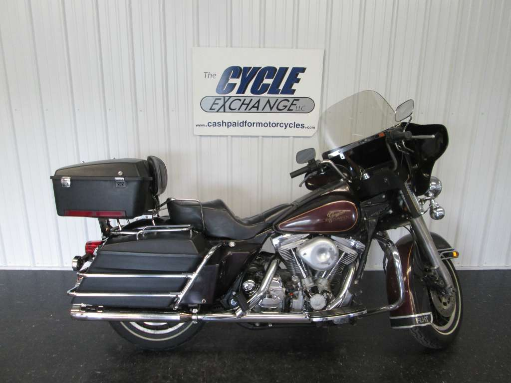 1985 Harley-Davidson Electra Glide Classic FLHT, motorcycle listing