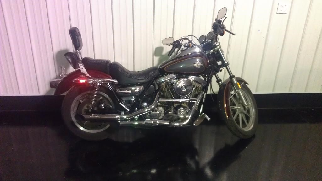1985 Harley-Davidson FXRS, motorcycle listing