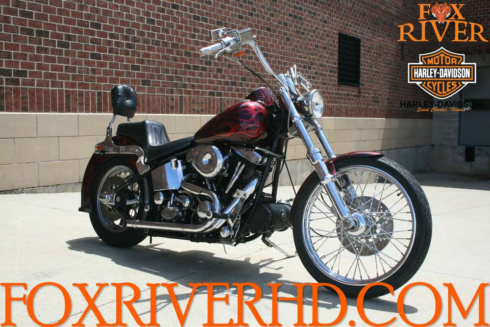 1986 Harley-Davidson FXSTC, motorcycle listing