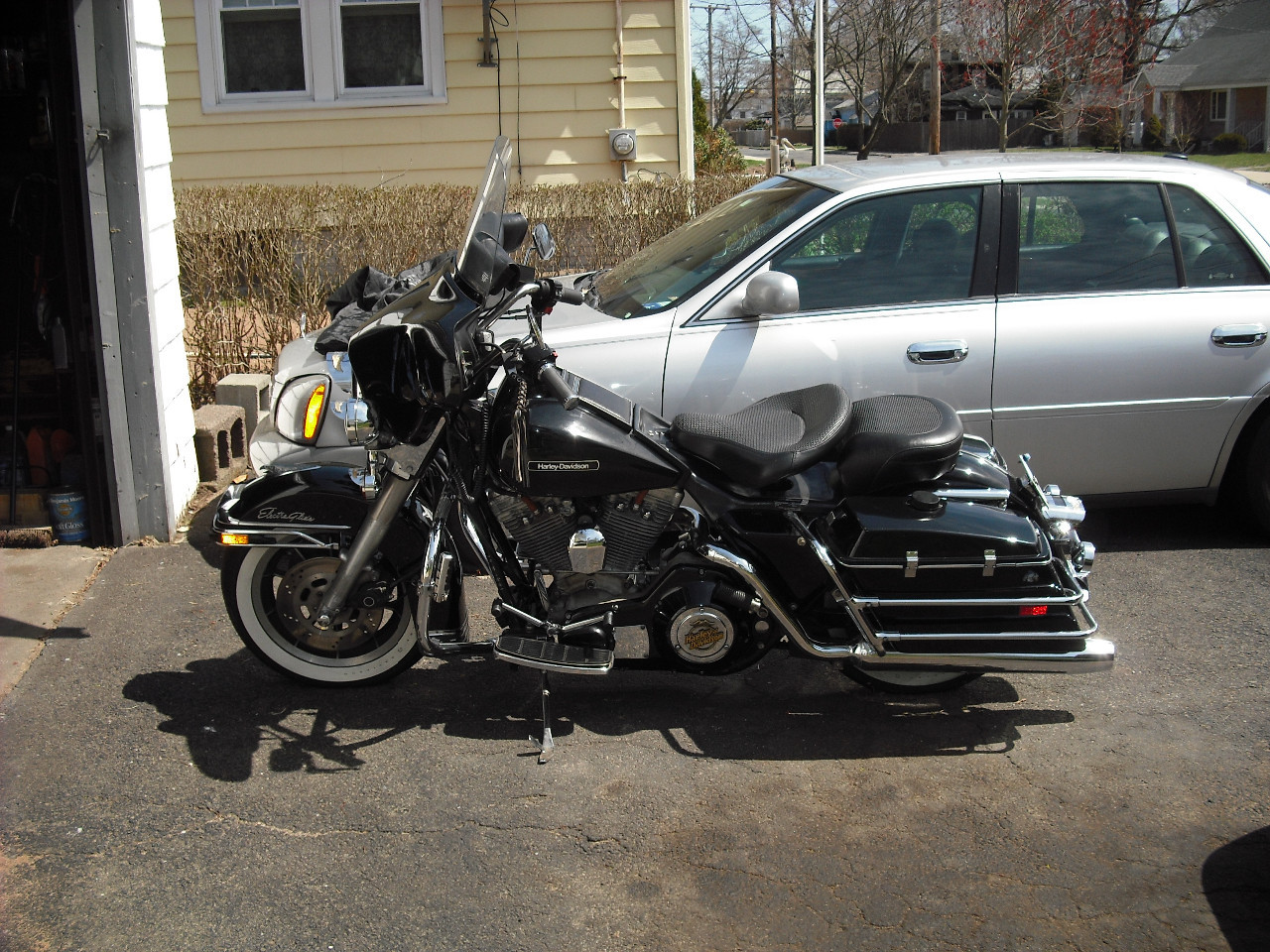 1987 Harley-Davidson Electra Glide POLICE, motorcycle listing