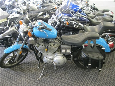 1987 Harley XLH883, motorcycle listing