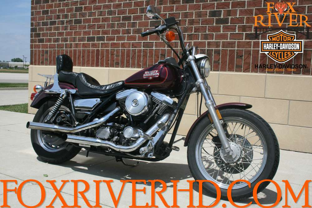 1988 Harley-Davidson FXRS, motorcycle listing