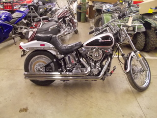 1989 Harley-Davidson FXSTC, motorcycle listing