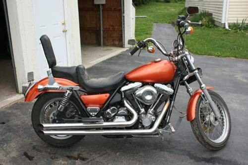 1989 Harley-Davidson Low Rider , motorcycle listing