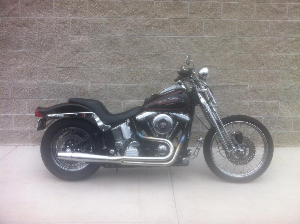 1990 Harley-Davidson FXSTS, motorcycle listing