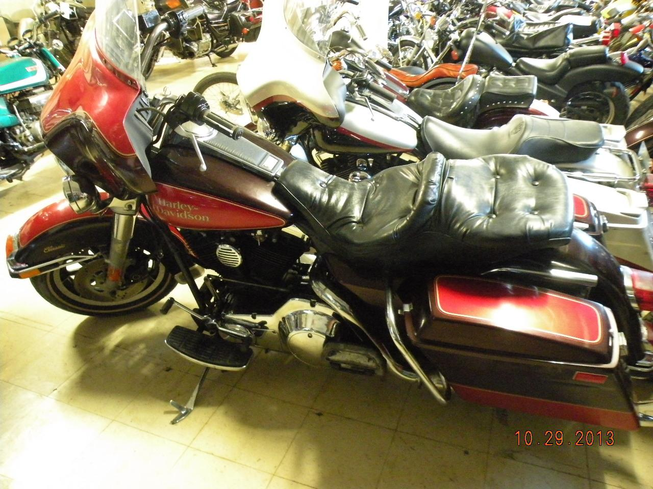 1991 Harley-Davidson FLHTC Electra Glide Classic, motorcycle listing