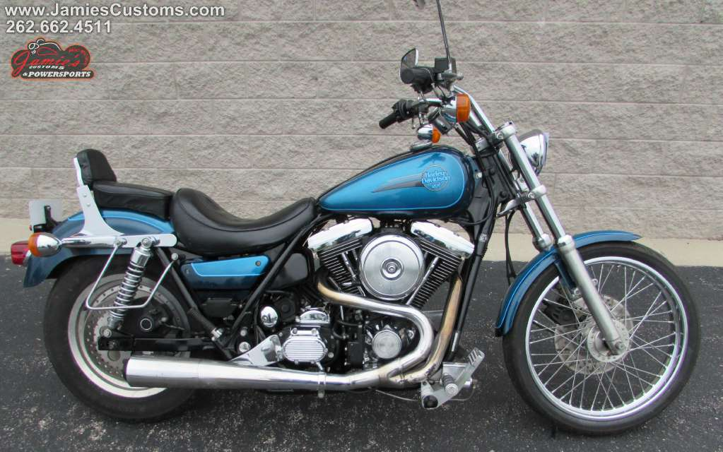 1991 Harley-Davidson FXLR Low Rider Custom, motorcycle listing