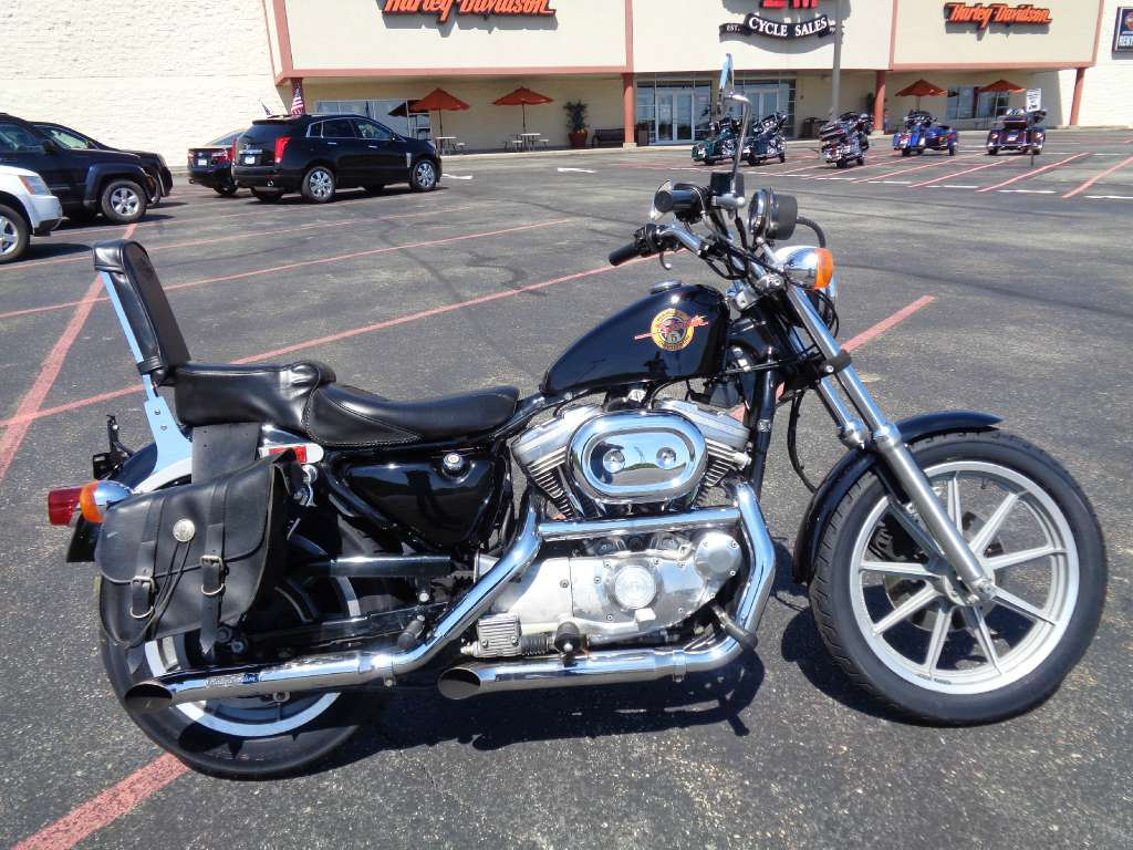 1991 Harley-Davidson XL883 Sportster, motorcycle listing