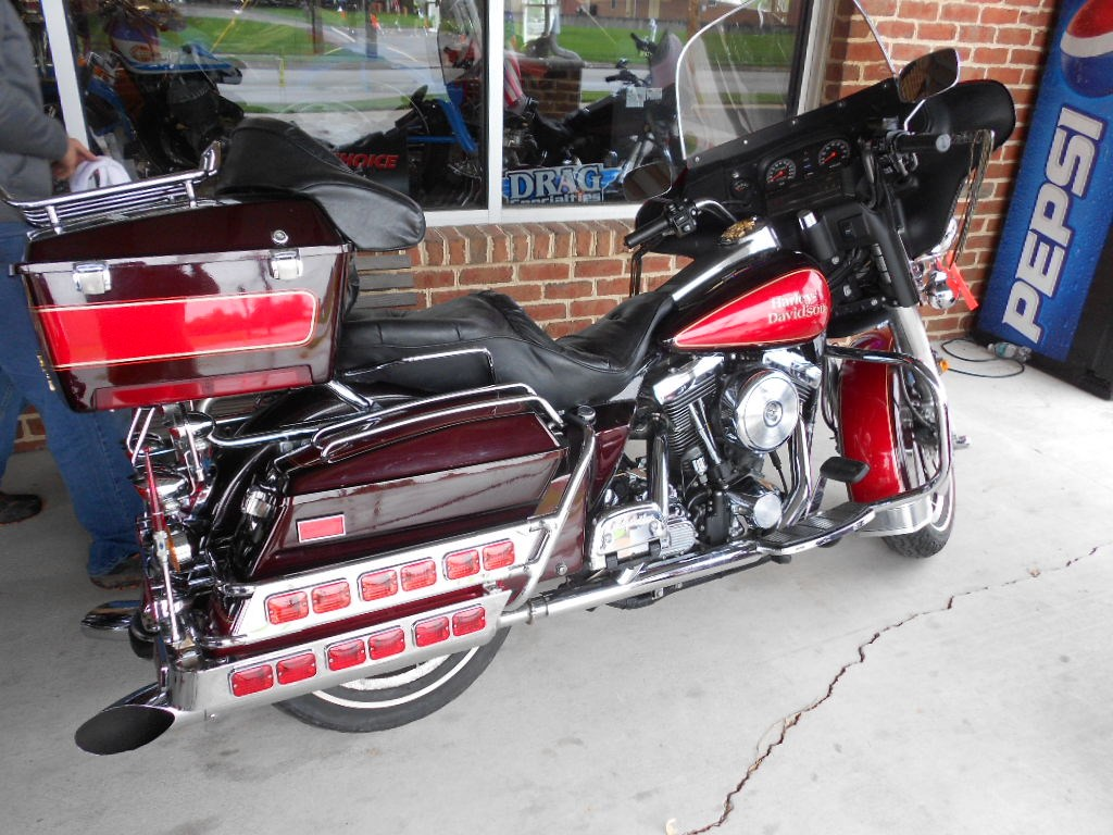1991 Harley-Davidson® FLHTC Electra Glide® Classic, motorcycle listing