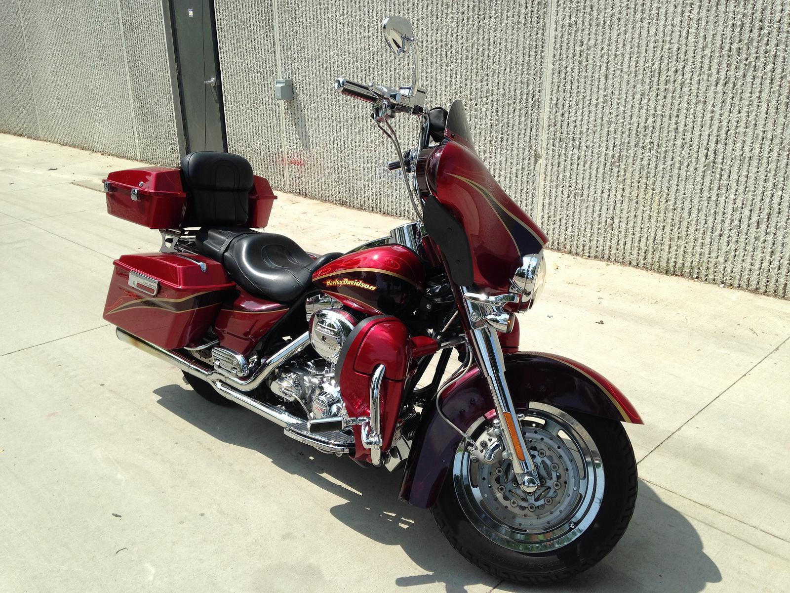 0 Harley-Davidson Electra Glide CVO, motorcycle listing