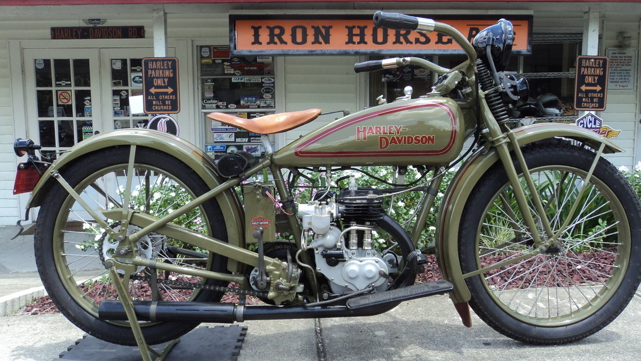1926 Harley-Davidson SINGLE CUSTOM, motorcycle listing