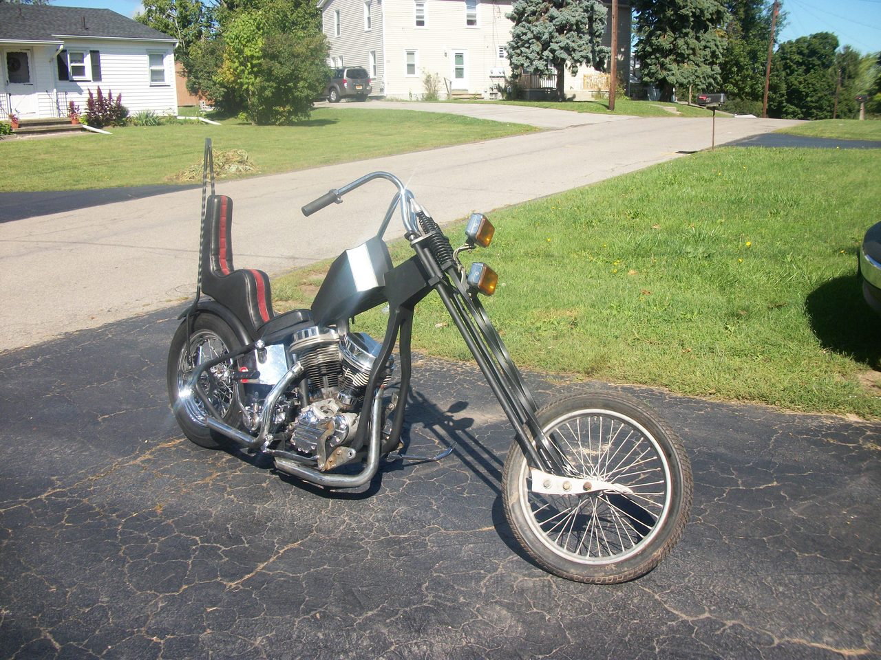 1950 Harley-Davidson Custom HARDTAIL, motorcycle listing
