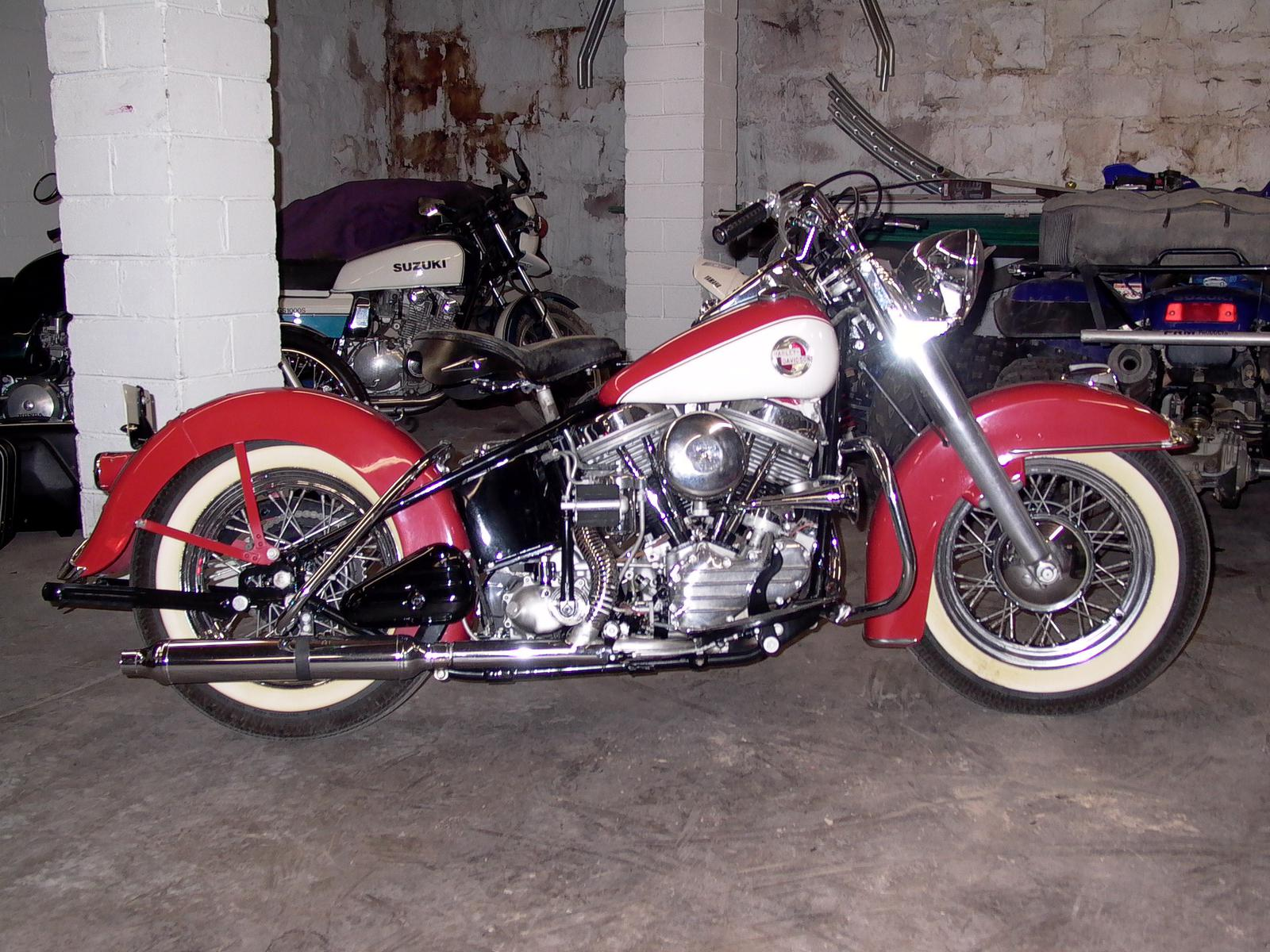 1957 Harley-Davidson FLH 1200, motorcycle listing