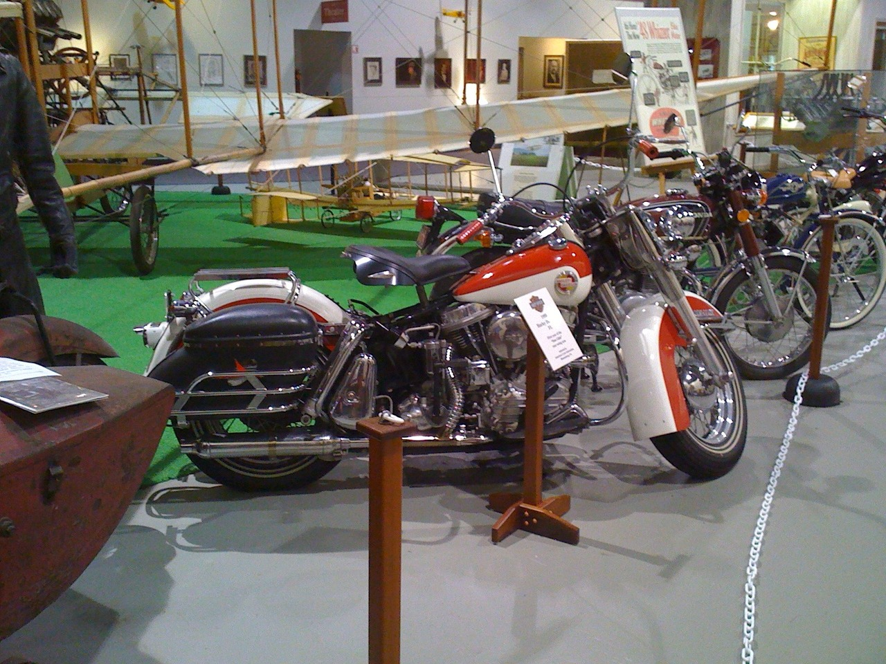 1958 Harley-Davidson Duo Glide , motorcycle listing