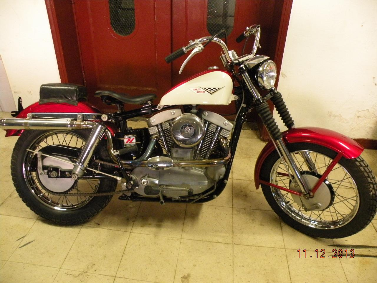 1959 Harley-Davidson Sportster XLCH, motorcycle listing