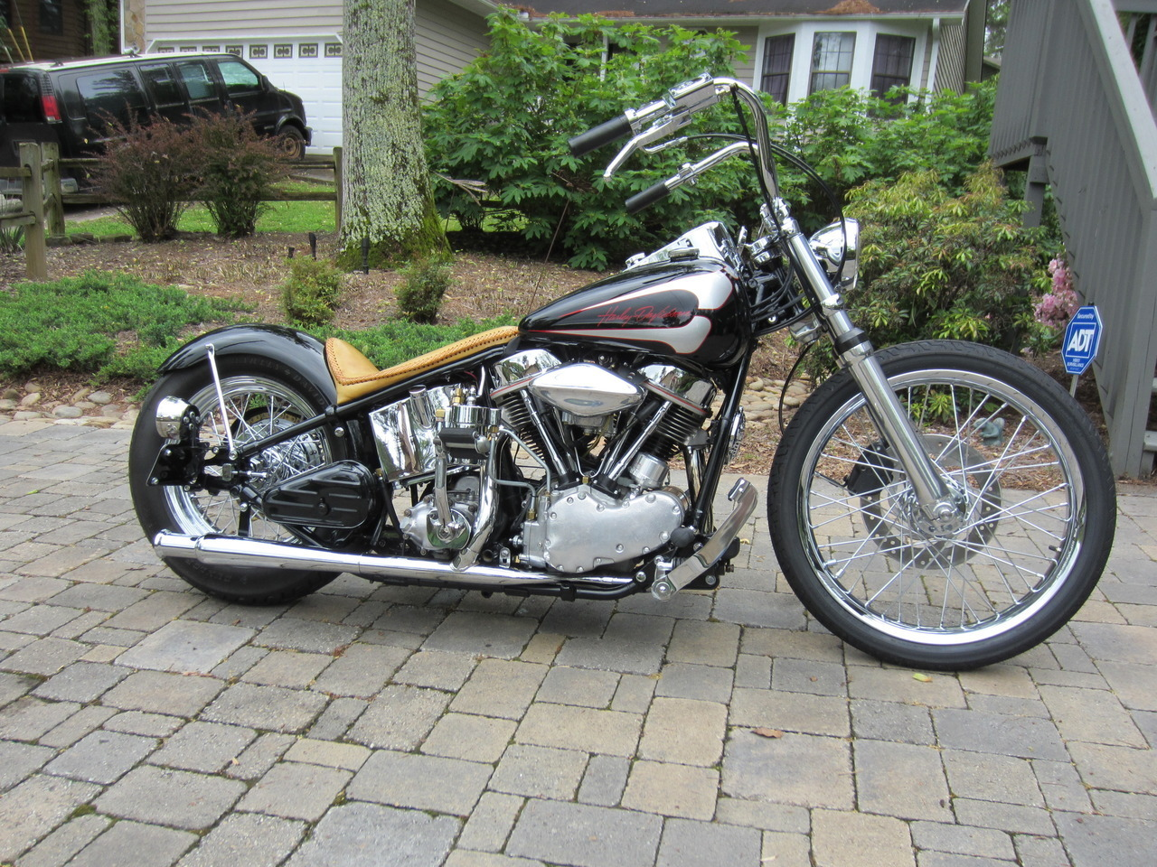 1962 Harley-Davidson Custom HARDTAIL, motorcycle listing