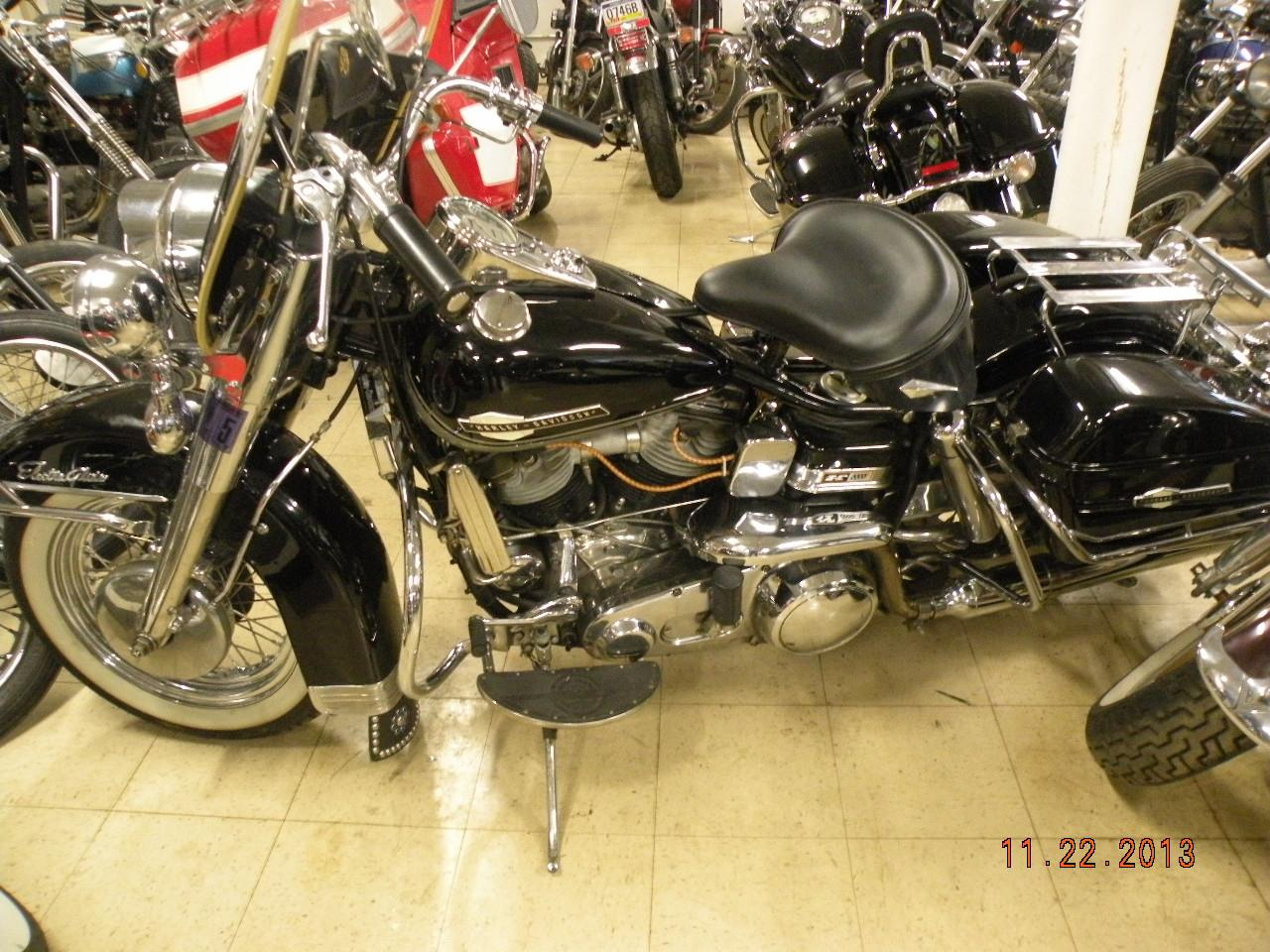 1965 Harley-Davidson FL Electric Glide, motorcycle listing