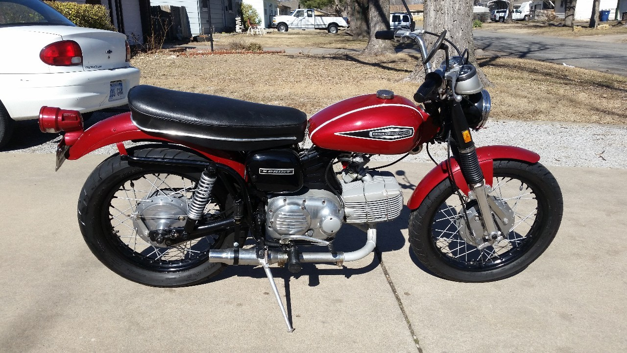 1970 Harley-Davidson Sprint , motorcycle listing