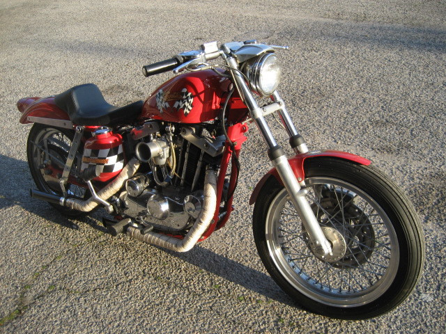 1974 Harley-Davidson Sportster XLH1000 Ironhead, motorcycle listing