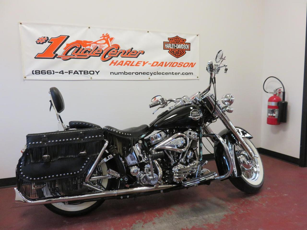 1975 Harley-Davidson FLH, motorcycle listing