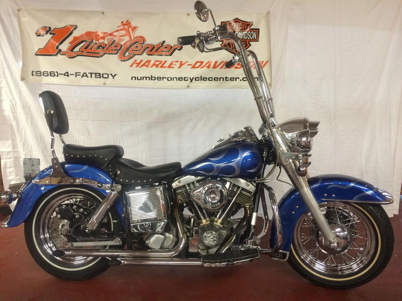1976 Harley-Davidson FLH, motorcycle listing