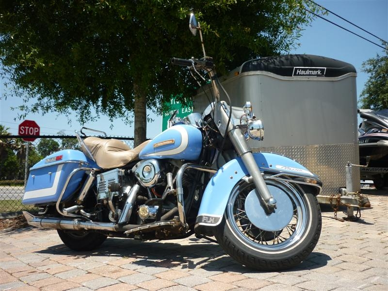1977 Harley-Davidson FLH Electra Glide, motorcycle listing