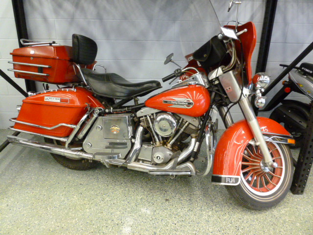 1979 Harley-Davidson FLH 1200, motorcycle listing