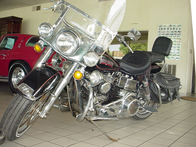 1980 Harley-Davidson Electra Glide FLH-80, motorcycle listing