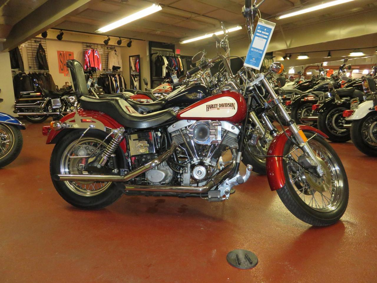 1980 Harley-Davidson FXS, motorcycle listing