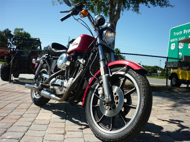 1981 Harley-Davidson Sportster Xl1000, motorcycle listing