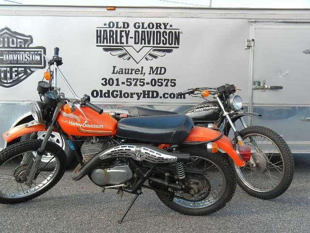 1975 HARLEY-DAVIDSON SX 250, motorcycle listing