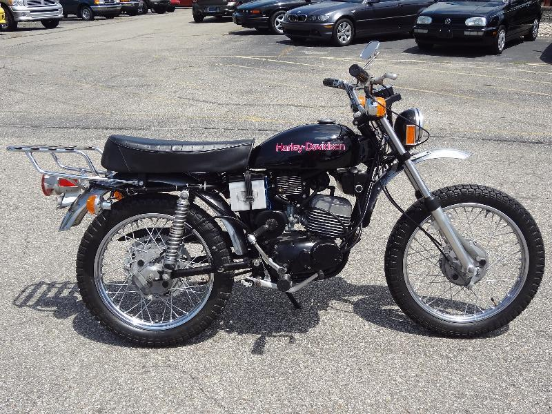 1975 HARLEY-DAVIDSON SX125, motorcycle listing