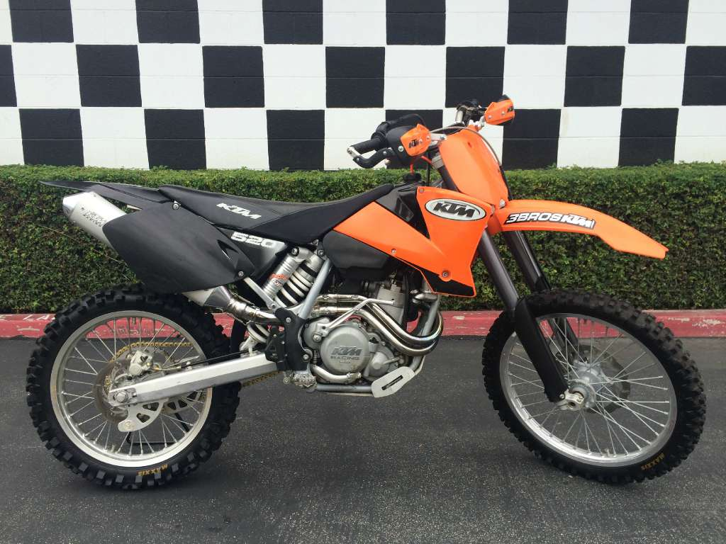 2002 KTM 520 SX, motorcycle listing