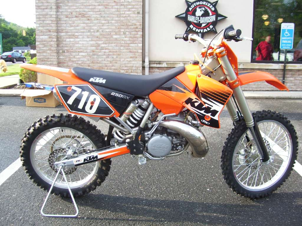 2003 KTM 250 SX, motorcycle listing