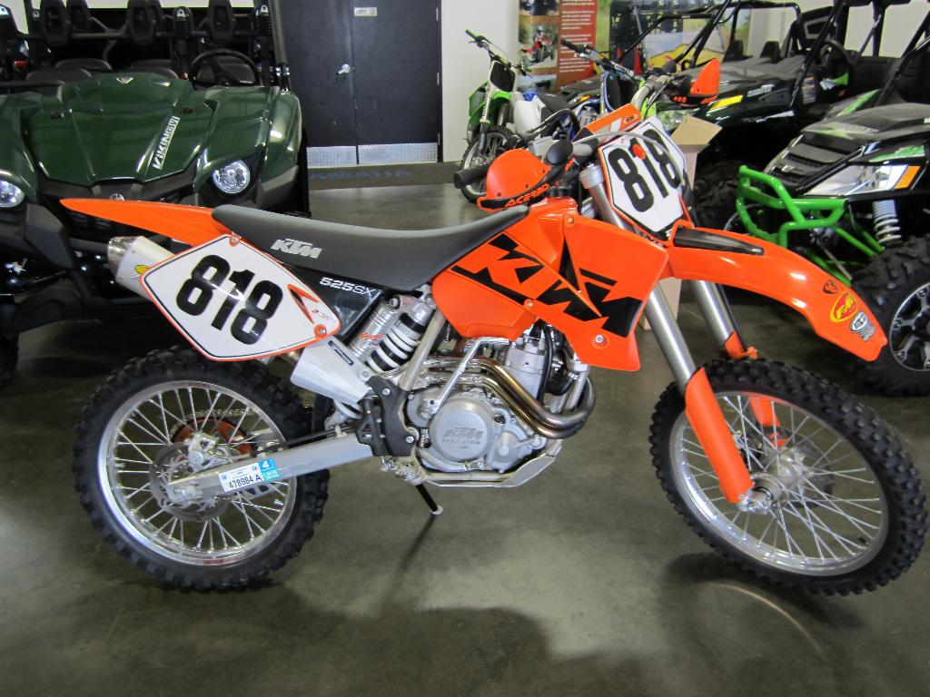 2003 KTM 525 SX, motorcycle listing