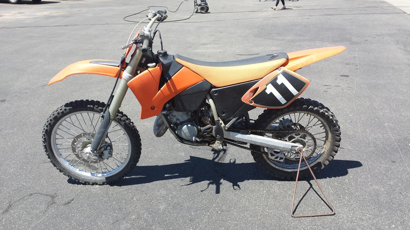 2003 KTM SX 125, motorcycle listing