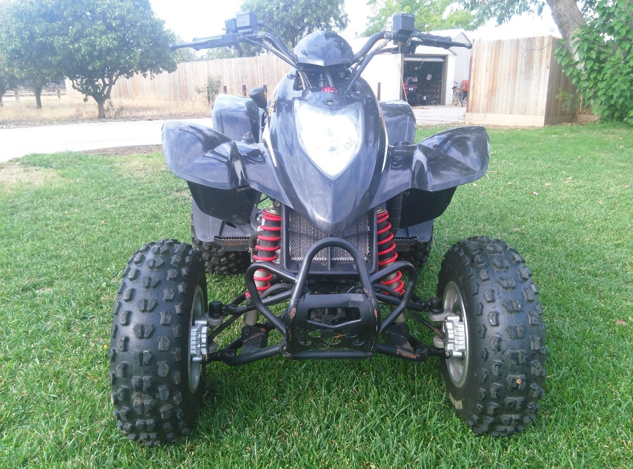 2004 Kymco Mongoose 250, motorcycle listing