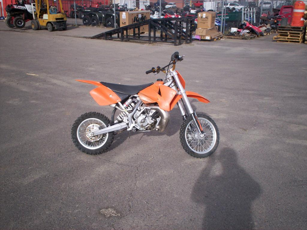 2005 KTM 65 SX, motorcycle listing