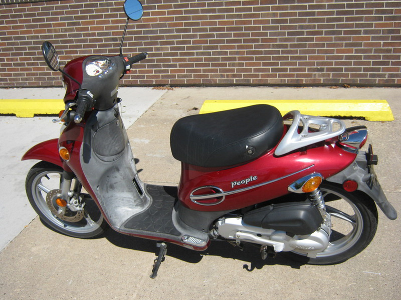 2005 Kymco People 50, motorcycle listing
