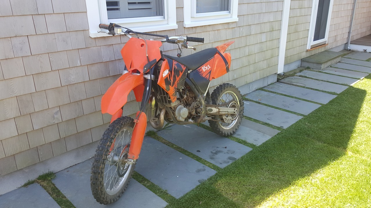 2006 KTM 85 SX, motorcycle listing