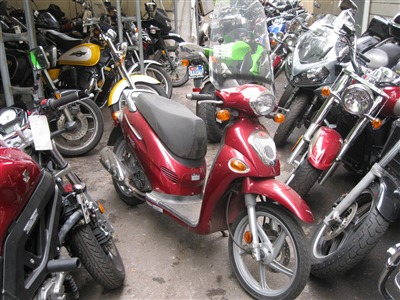 2006 Kymco PEOPLE150, motorcycle listing